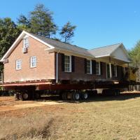 Brick masonry house move in Oak Ridge, NC